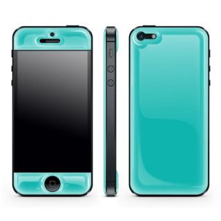 Blue Glow Gel Skin with bumper  iPhone5