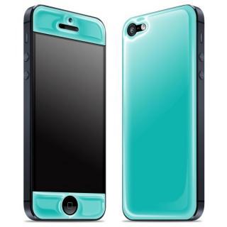 【iPhone SE/5s/5ケース】Blue Glow Gel Skin with bumper  iPhone5_1