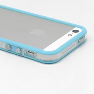【iPhone SE/5s/5ケース】Blue Glow Gel Skin with bumper  iPhone5_2