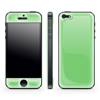 iPhone SE/5s/5 ケース Green Glow Gel Skin with bumper  iPhone 5