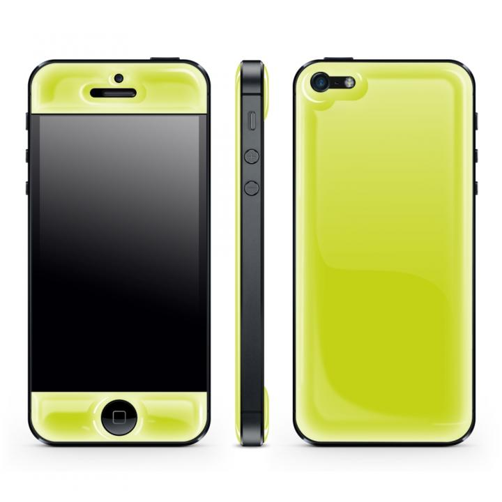 iPhone SE/5s/5 ケース Yellow Glow Gel Skin with bumper  iPhone 5_0