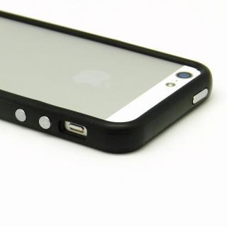 【iPhone SE/5s/5ケース】Black Glow Gel Skin with bumper  iPhone 5_2