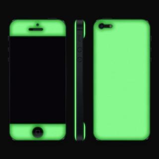 【iPhone SE/5s/5ケース】Black Glow Gel Skin with bumper  iPhone 5_5