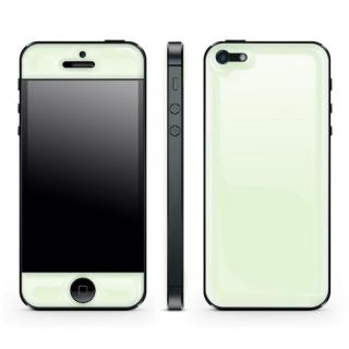 White Glow Gel Skin with bumper  iPhone5