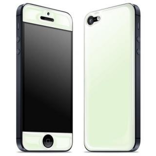 【iPhone SE/5s/5ケース】White Glow Gel Skin with bumper  iPhone5_1