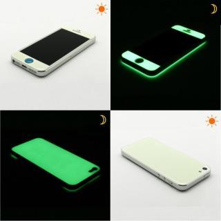 【iPhone SE/5s/5ケース】White Glow Gel Skin with bumper  iPhone5_4