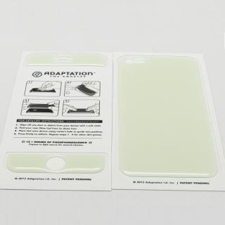 【iPhone SE/5s/5ケース】White Glow Gel Skin with bumper  iPhone5_6