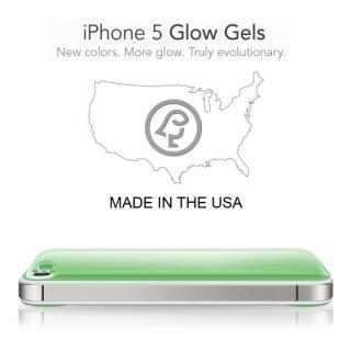 【iPhone SE/5s/5ケース】Blue Stripe Glow Gel Skin with bumper  iPhone5_6