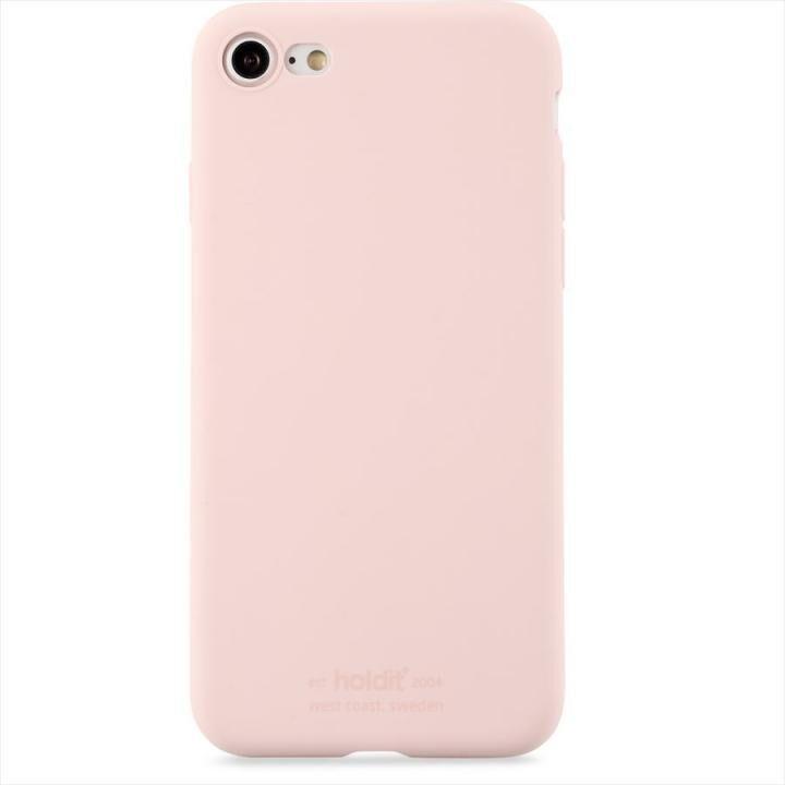 iPhone8/7 ケース ソフトタッチシリコーンケース ブラッシュピンク iPhone 8/7【9月上旬】_0
