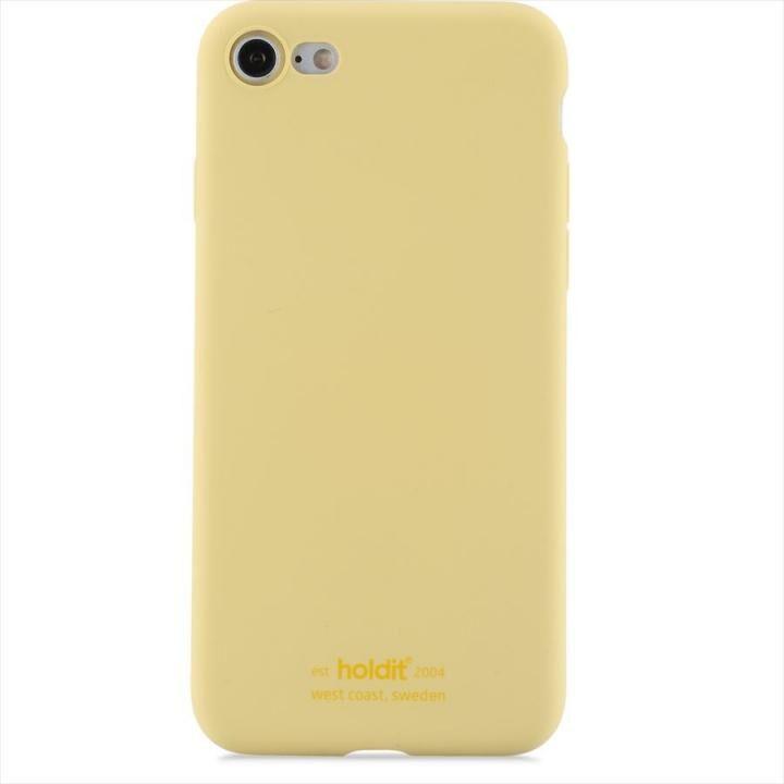 iPhone8/7 ケース ソフトタッチシリコーンケース イエロー iPhone 8/7_0