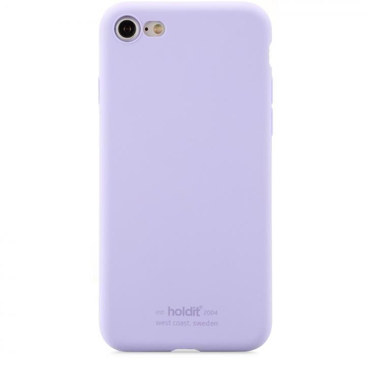 iPhone8/7 ケース ソフトタッチシリコーンケース ラベンダー iPhone 8/7_0