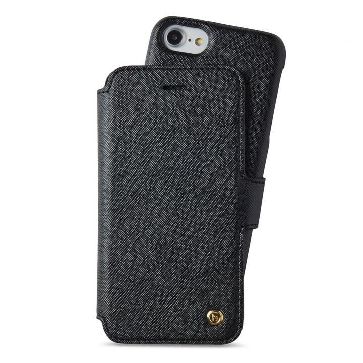 iPhone8/7/6s/6 ケース Stockholm セパレート手帳型ケース ブラック iPhone 8/7/6s/6_0