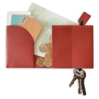 一まとめ財布 Full to Keydell-Key Wallet- レッド【8月中旬】