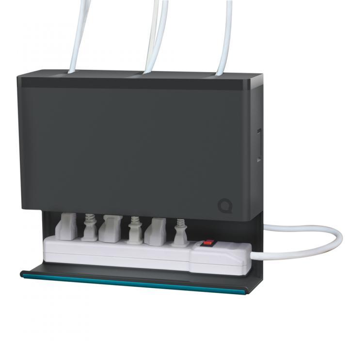 プラグハブ ケーブル・電源タップ収納ボックス_0