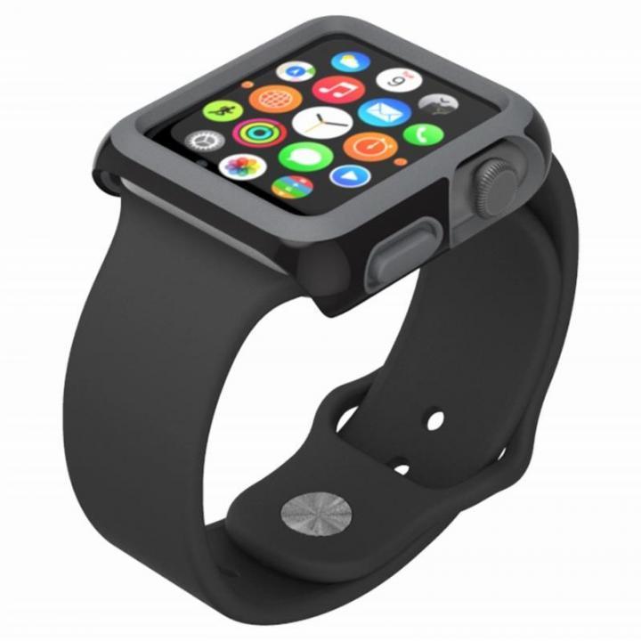 CandyShell Fit 38mm Apple Watch ケース ブラック_0