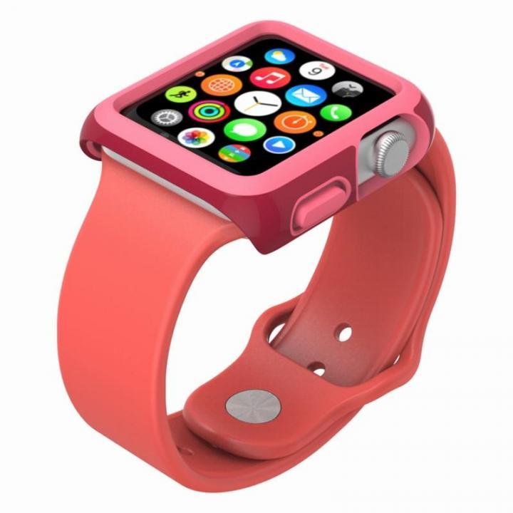 [2017夏フェス特価]CandyShell Fit 42mm Apple Watch ケース レッド