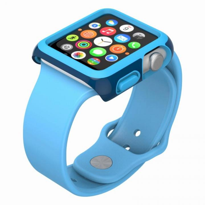 CandyShell Fit 42mm Apple Watch ケース ブルー_0