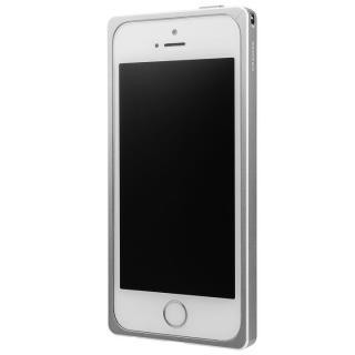 GRAMAS ストレートメタルバンパー シルバー iPhone SE/5s/5