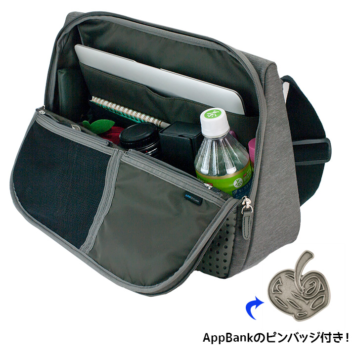 ひらくPCバッグ AppBankモデル ※特製ピンバッジ付_0
