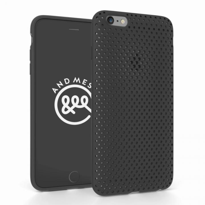 【iPhone6s Plus/6 Plusケース】エラストマー AndMesh MESH CASE ブラック iPhone 6s Plus/6 Plusケース_0