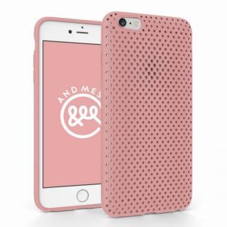 エラストマー AndMesh MESH CASE ピンク iPhone 6 Plusケース