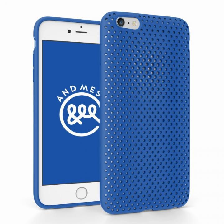 iPhone6 Plus ケース エラストマー AndMesh MESH CASE ブルー iPhone 6 Plusケース_0