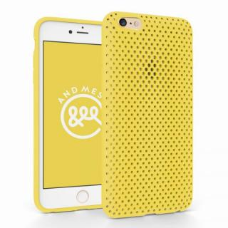 [新春初売りセール]エラストマー AndMesh MESH CASE イエロー iPhone 6 Plusケース