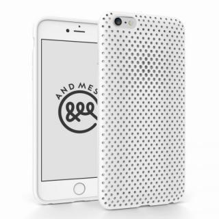 エラストマー AndMesh MESH CASE ホワイト iPhone 6 Plusケース