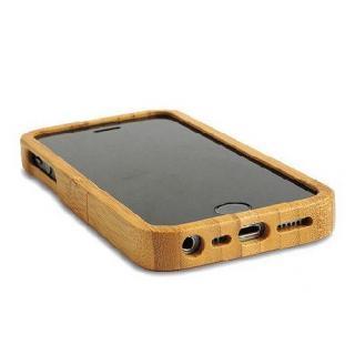 【iPhone SE/5s/5ケース】天然の竹を使った一点モノ kibaco 天然竹ケース アルファベットA iPhone SE/5s/5ケース_2