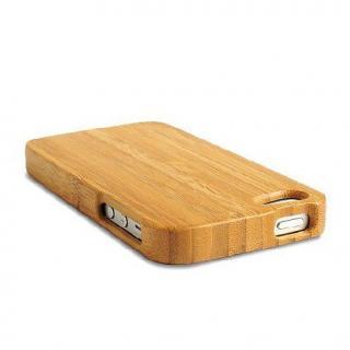 【iPhone SE/5s/5ケース】天然の竹を使った一点モノ kibaco 天然竹ケース アルファベットA iPhone SE/5s/5ケース_3