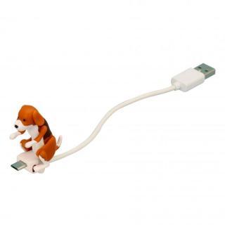 ハンピングドッグ microUSB-USBケーブル ビーグル