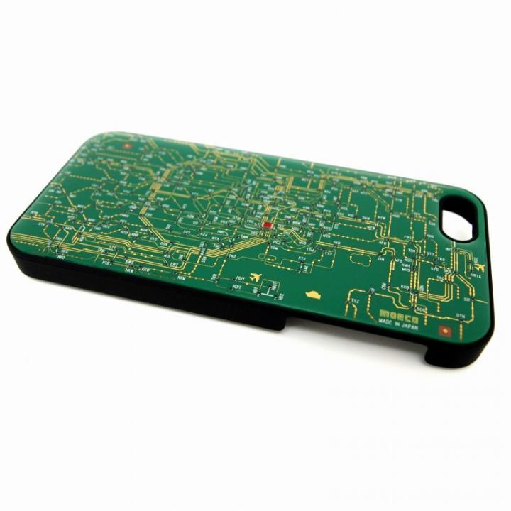 iPhone SE/5s/5 ケース 東京回路線図 緑 iPhone SE/5s/5_0