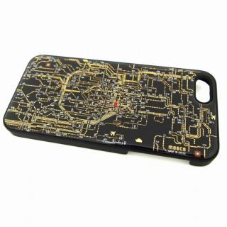 東京回路線図 黒 iPhone SE/5s/5