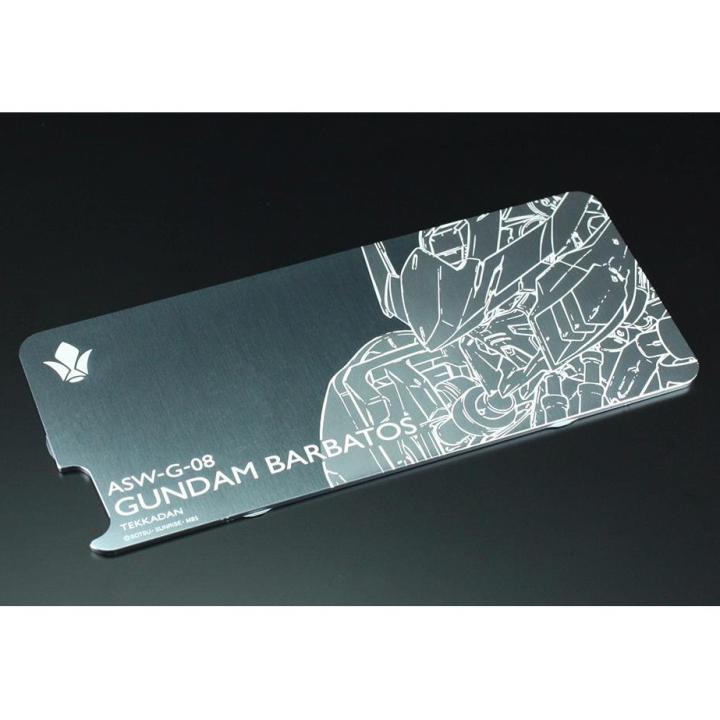 GILDdesign ガンダム ソリッドバンパー専用プレート ガンダムバルバトス iPhone 6s/6