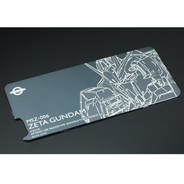 iPhone6s/6 ケース GILDdesign ガンダム ソリッドバンパー専用プレート Zガンダム iPhone 6s/6_0