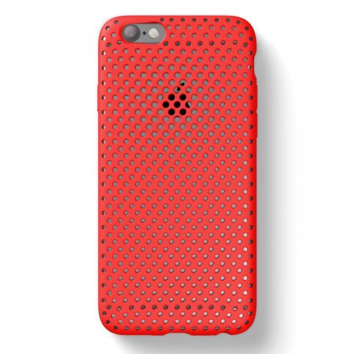 iPhone6s/6 ケース エラストマー AndMesh メッシュケース USAモデル レッド iPhone 6s/6_0