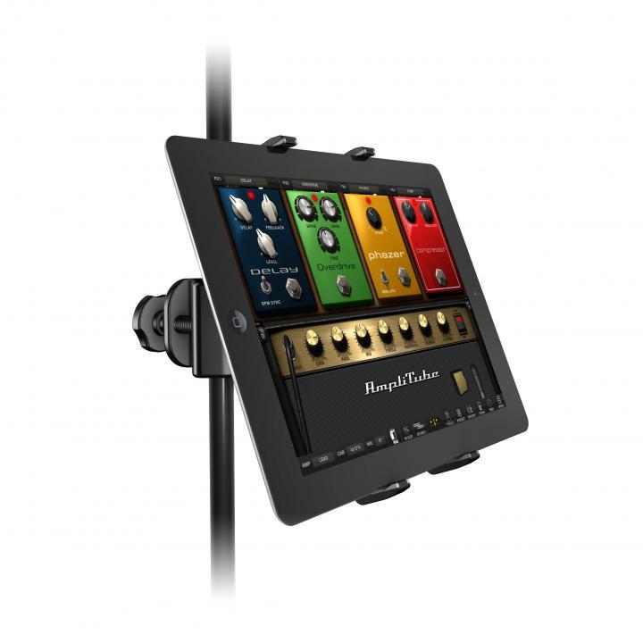 スタンドマイクに取り付けられる スマートフォン・タブレットスタンド Klip Xpand_0