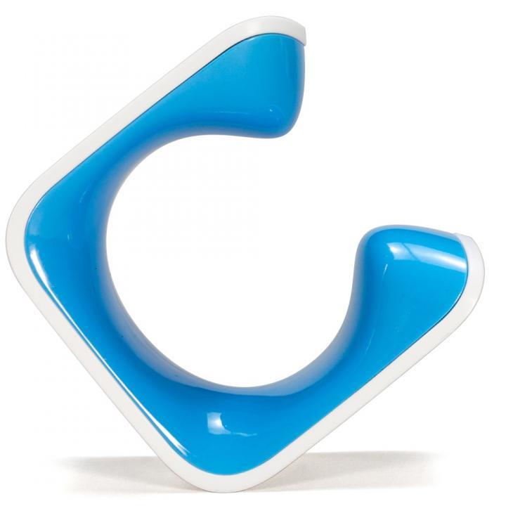 手のひらサイズの自転車スタンド CLUG 青 Lサイズ_0