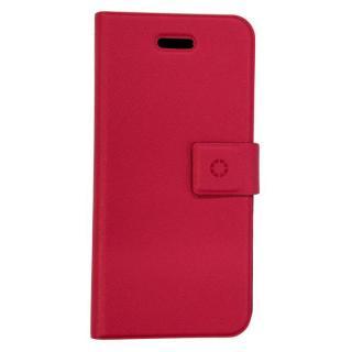 特殊粘着シートで汚れない 手帳型ケース DIARIO ピンク iPhone SE/5s/5/5cケース