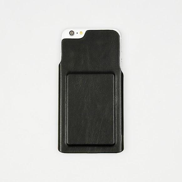 ICカード対応PUレザーケース CARDFIX ブラック iPhone 6s Plus/6 Plus