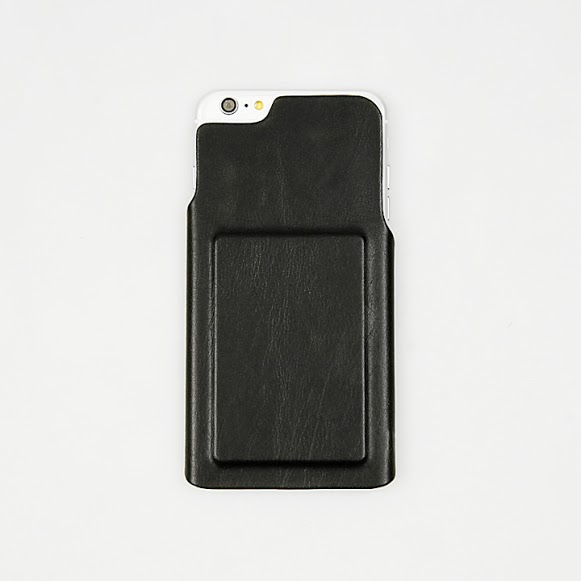 【iPhone6s Plus/6 Plusケース】ICカード対応PUレザーケース CARDFIX ブラック iPhone 6s Plus/6 Plus_0