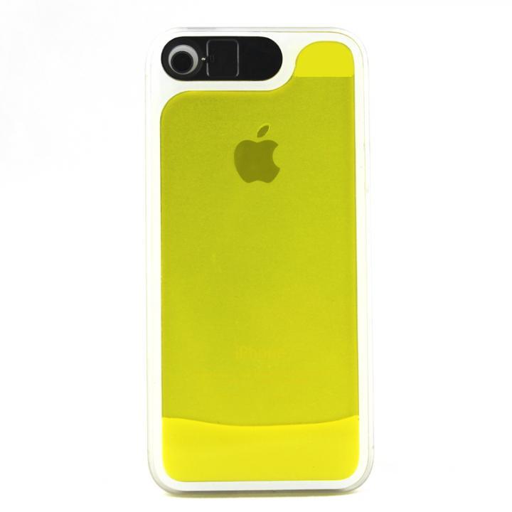 iPhone SE/5s/5 ケース ケースが光る! 砂が光る! HULA Le'a Lino レミイエロー iPhone SE/5s/5ケース_0