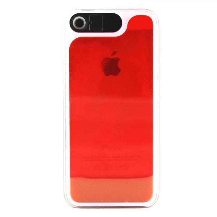 【iPhone SE/5s/5ケース】ケースが光る! 砂が光る! HULA Le'a Lino Lehuaレッド iPhone SE/5s/5ケース_0
