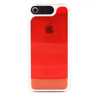 ケースが光る! 砂が光る! HULA Le'a Lino Lehuaレッド iPhone SE/5s/5ケース