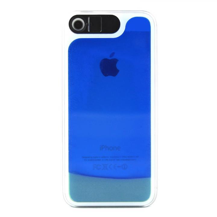 ケースが光る! 砂が光る! HULA Le'a Lino コナブルー iPhone SE/5s/5ケース