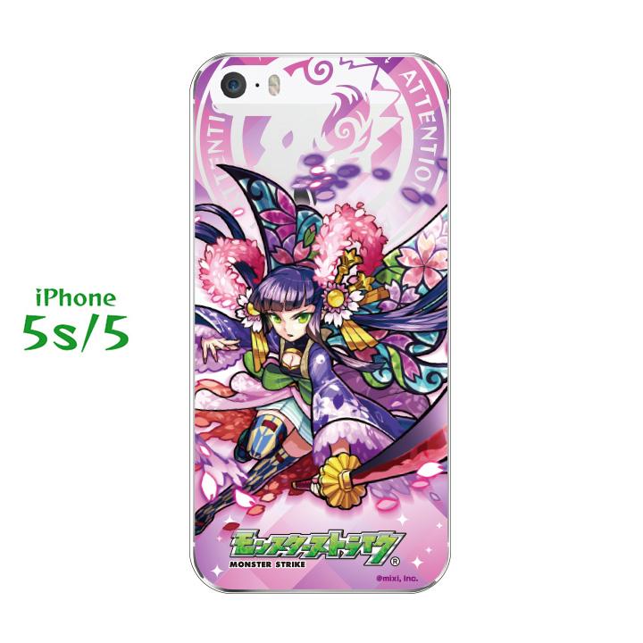 iPhone SE/5s/5 ケース 第3回モンスト選抜選挙ケース 花ノ国の精 桜 iPhone SE/5s/5_0