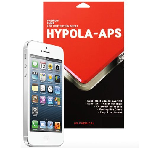 【iPhone SE/5s/5フィルム】iPhone5 HYPOLA-APS 超強力液晶保護フィルム [硬度8H以上]_0