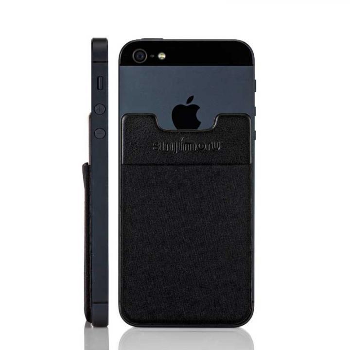 【iPhone SE/6/6 Plusケース】スマホにポケット Sinji Pouch IC ブラック iPhone Android_0