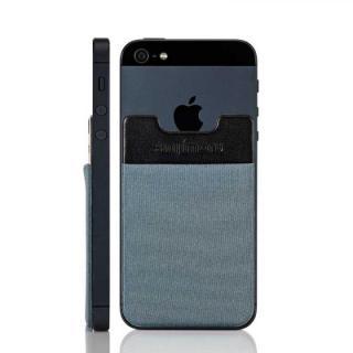 スマホにポケット Sinji Pouch IC グレー iPhone Android