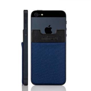 スマホにポケット Sinji Pouch IC ネイビー iPhone Android